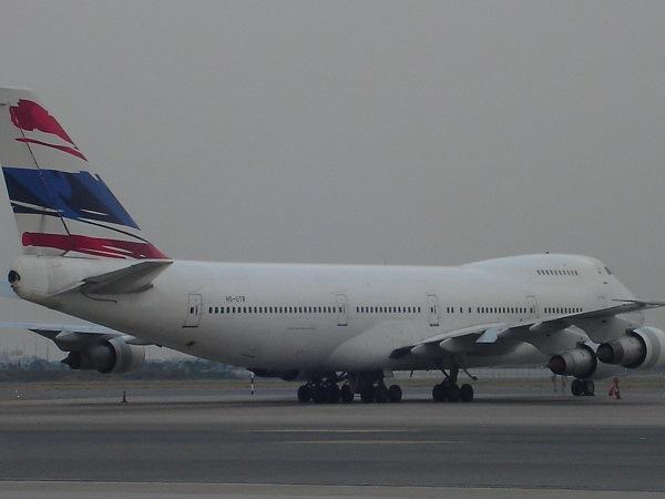 オリエント・タイ航空のB747-200B(HS-UTR)