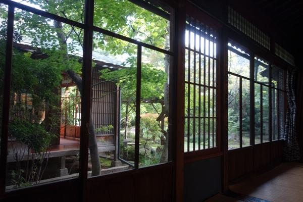 栗の点心朱雀提供場所の本宅の内部の様子
