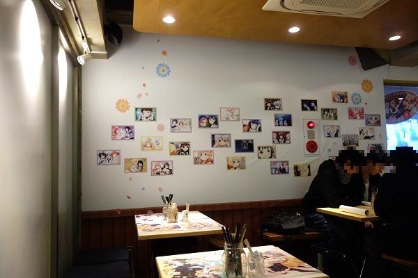 ごちうさカフェ店内の様子