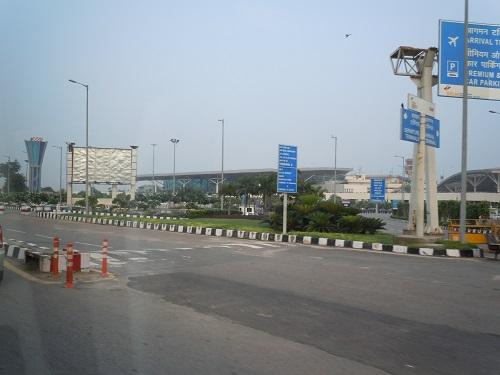インディラガンディー国際空港の外観