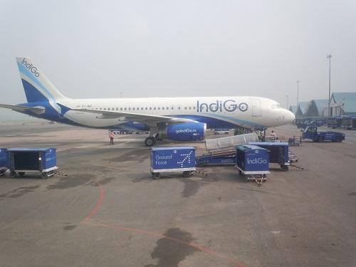 インドのLCCインディゴのA320型機