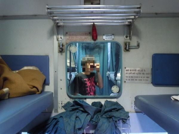 車内設備の鏡