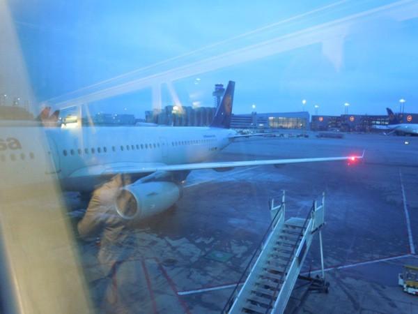 搭乗機のルフトハンザ・ドイツ航空のA321-200(D-AIDO)