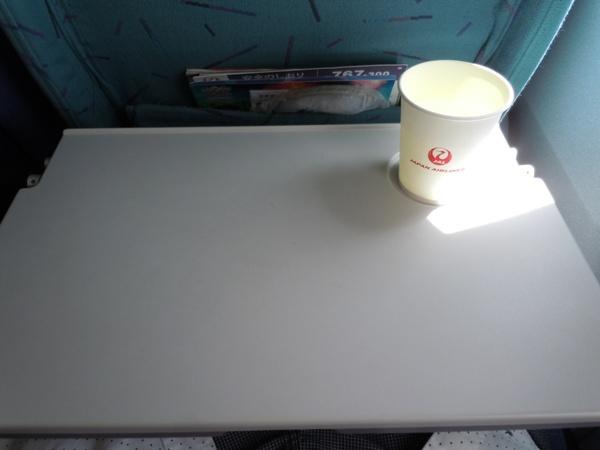 ビーフコンソメスープの機内サービス