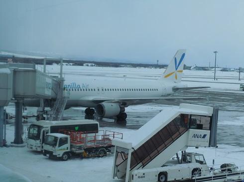 バニラエアの搭乗機(機齢22年)のA320-200画像