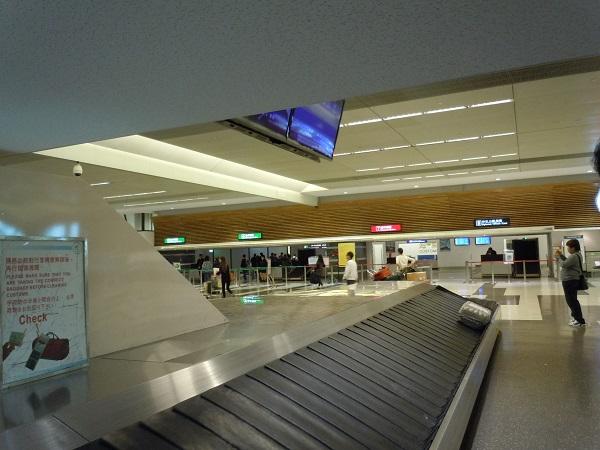 台北桃園国際空港の手荷物返却場所