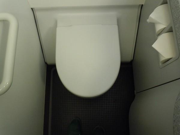 機内トイレ