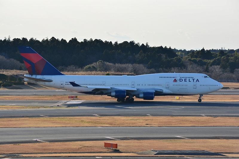 デルタ航空のB747-400型機