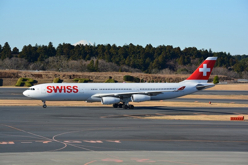 スイス・インターナショナルエアラインズのA340-300型機