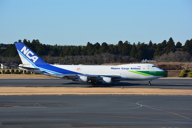 NCAのB747-400Fエコ塗装