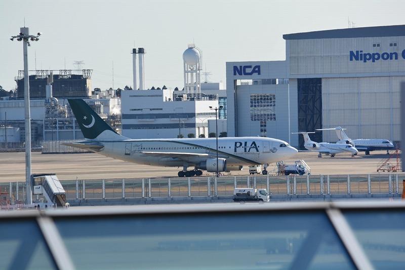 パキスタン航空のA310-300型機