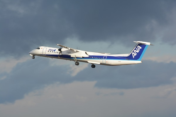 ANAのDHC-8-Q400型機