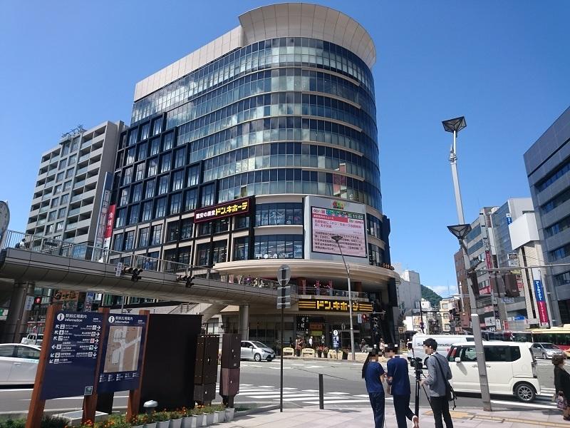 ドンキホーテ長野駅前店が入居するウエストプラザ長野