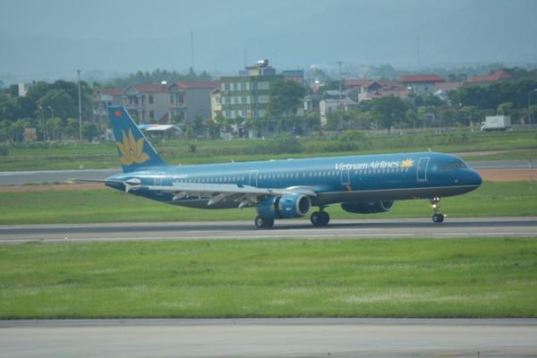 今回の搭乗機のベトナム航空A321-200(VN-A323)