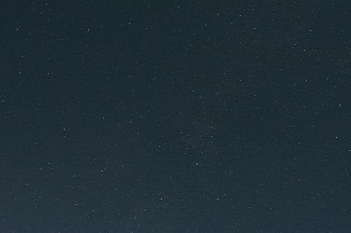 標高1100mの地で撮影した星空