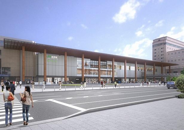 新長野駅ビル完成予想図